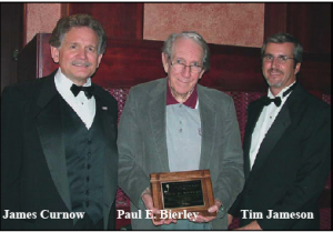 Paul Bierley with Tim Jameson and James Curnow