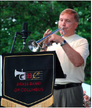 Phil Smith as BBC Trumpet Soloist at the Great American Brass Band Festival