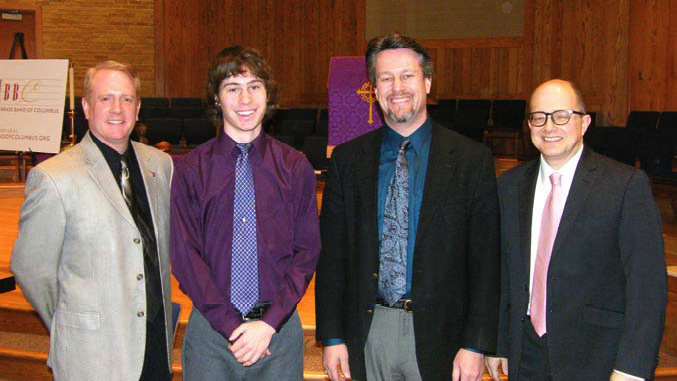 2010 Young Artist Competition Adjudicators and Winner