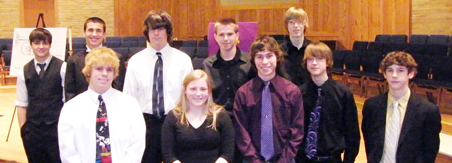 2010 Young Artist Competition participants